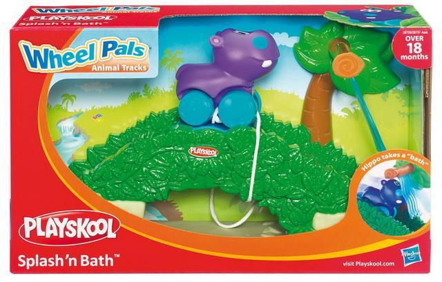 Playskool Hrací set se zvířátkem - Hrošík fialový