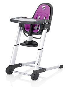 Jídelní židlička Inglesina Zuma 2017 - grey (pouze konstrukce)