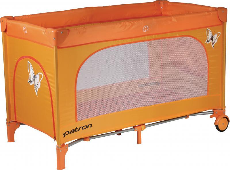 Cestovní postýlka Patron Skippy 2016 - 834 Butterfly orange