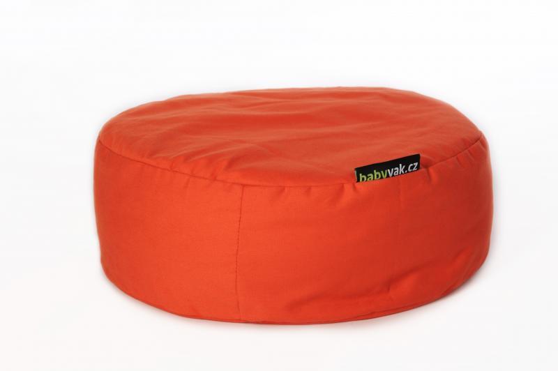 Babyvak Polštář meditační malý - oranžový