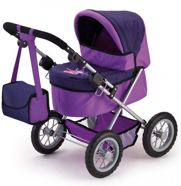 Bayer Trendy kočárek pro panenky - lila
