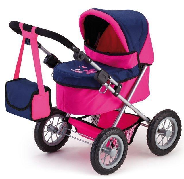 Bayer Trendy kočárek pro panenky - pink/blau