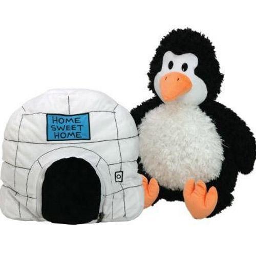 EP Line Happy Nappers dětský plyšový polštářek - tučňák