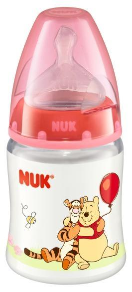 Nuk First Choice PP láhev Disney 150 ml - červená