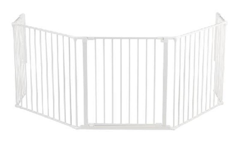 BabyDan prostorová zábrana Flex XL - bílá