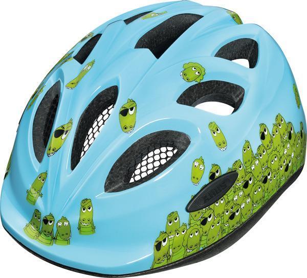 Dětská cyklistická helma ABUS Smiley - Model CROCO - velikost S