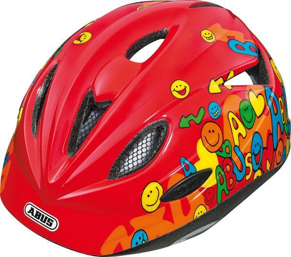 Dětská cyklistická helma ABUS Rookie - Model RED - velikost M