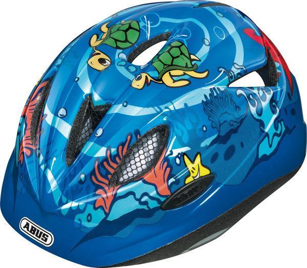 Dětská cyklistická helma ABUS Rookie - Model BLUE - velikost S