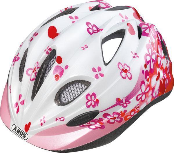 Dětská cyklistická helma ABUS Chilly - PINK velikost M