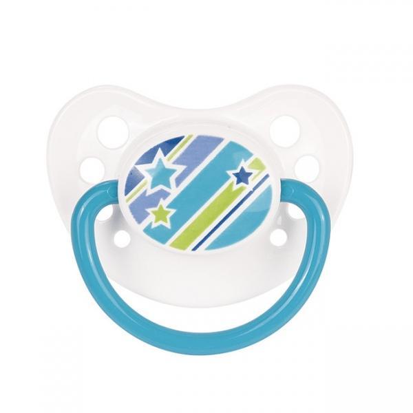 Canpol babies dudlík kaučukový anatomický 0-6m PICNIC NEW - modrá