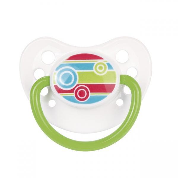 Canpol babies dudlík kaučukový anatomický 0-6m PICNIC NEW - zelené