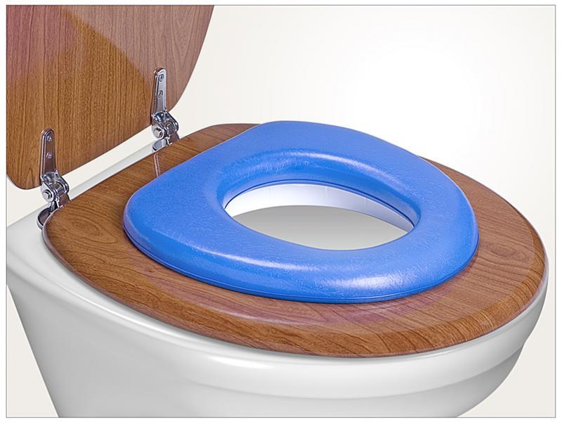 Reer WC sedátko soft - modrá