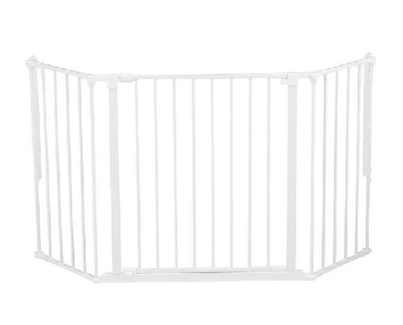 BabyDan prostorová zábrana Flex M - White