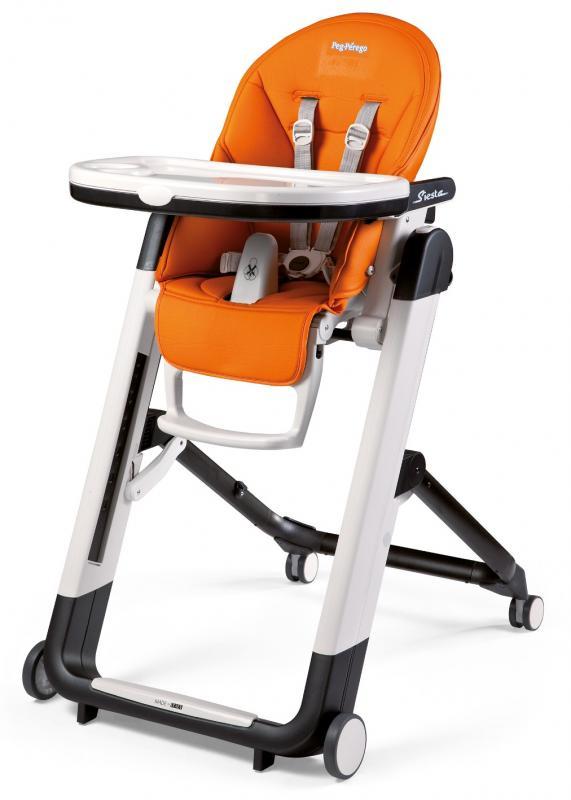 Jídelní židlička Peg Pérego Siesta 2017 - Arancia
