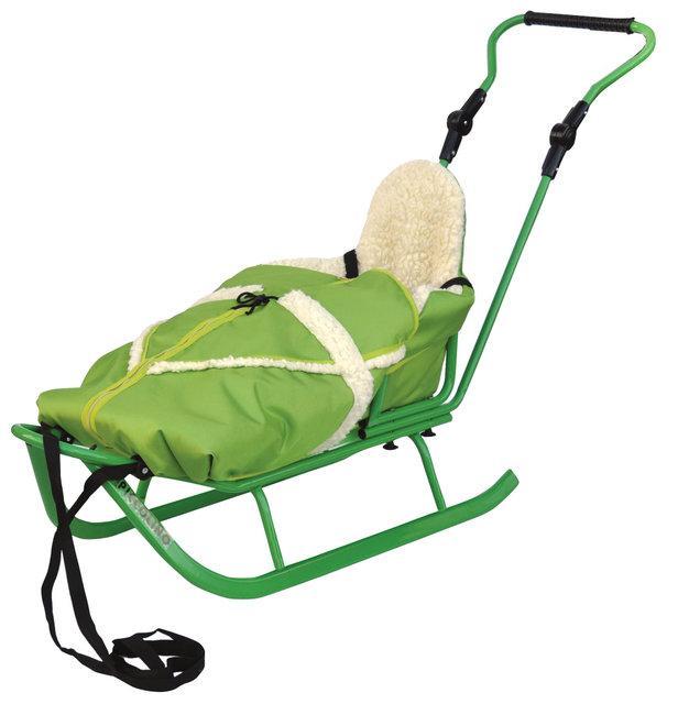 Piccolino saně KOMPLET - zelené