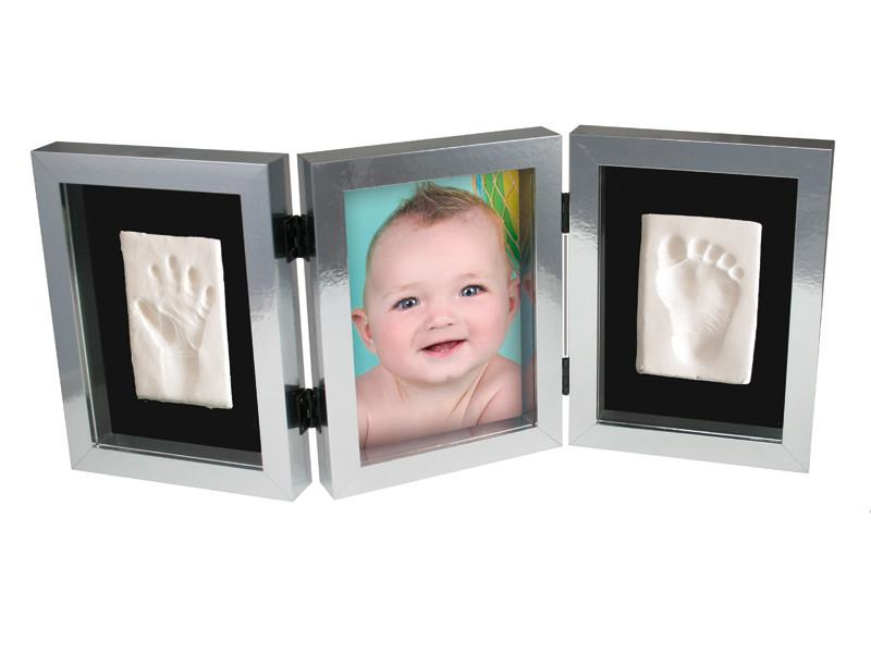 Kidzzcast My First Hand & Foot Impression - Silver