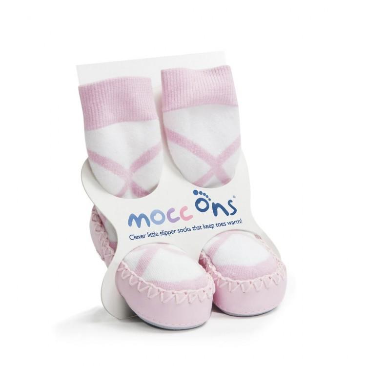 MOCC ONS® ponožkové mokasíny 6-12 měsíců - Balerina
