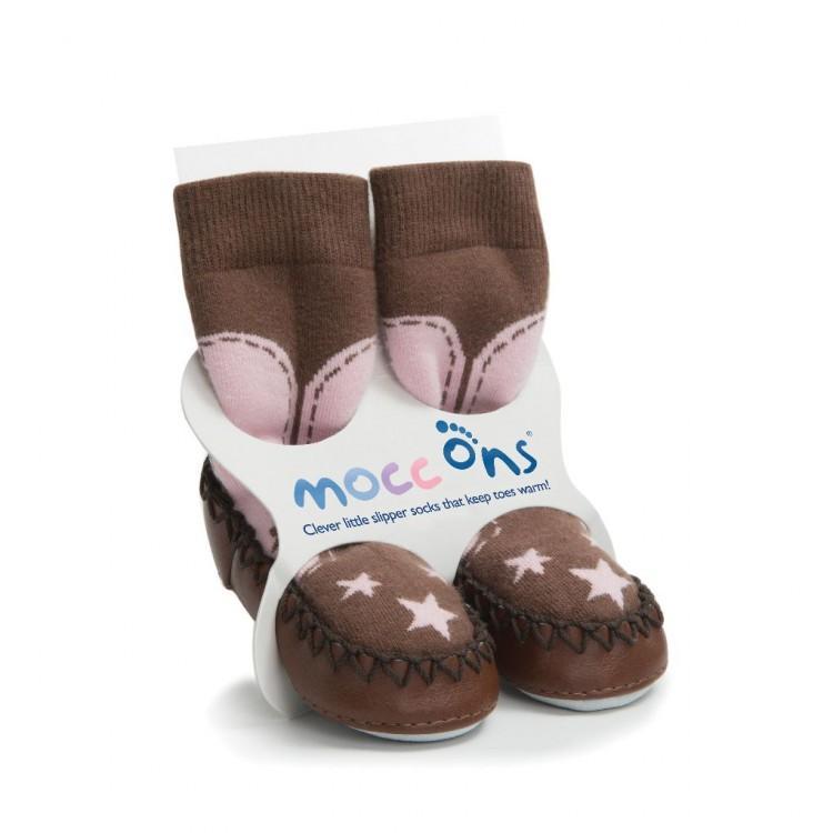 MOCC ONS® ponožkové mokasíny 12-18 měsíců - Cow Girl