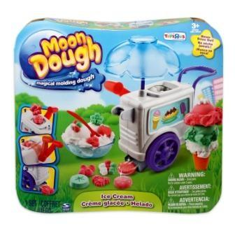 EP Line Moon Dough Sada velká - 2 druhy - Zmrzlinářský vozík