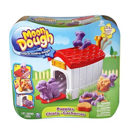 EP Line Moon Dough Sada standard - 4 druhy - Zvířátka