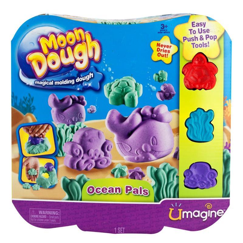 EP Line Moon Dough Sada standard - 4 druhy - Mořský svět