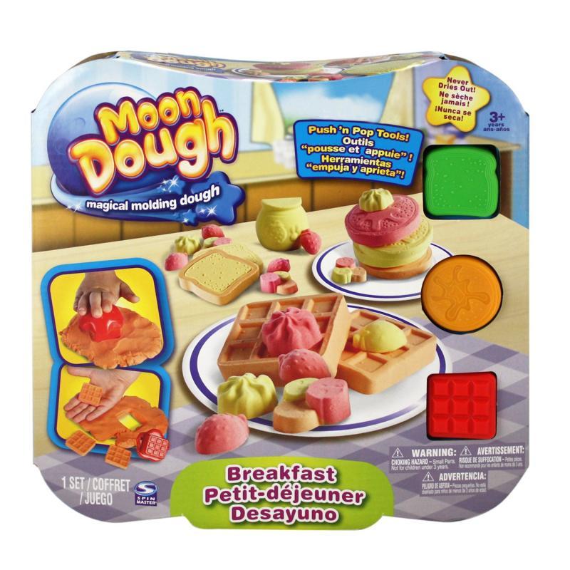 EP Line Moon Dough Sada standard - 4 druhy - Snídaně