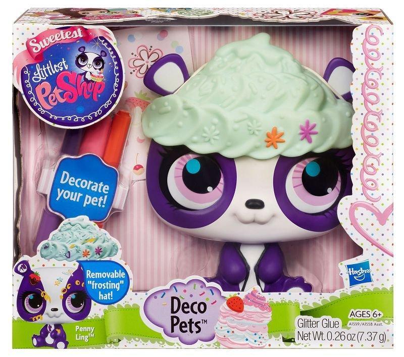 Hasbro Littlest Pet Shop Dekorativní zvířátko - panda