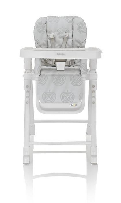 Jídelní židlička Inglesina Gusto 2017 - Silver/světle šedá