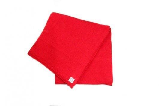 Minutus deka pletená bavlněná - červená