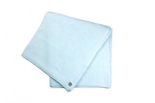 Minutus deka pletená bavlněná - sv.modrá