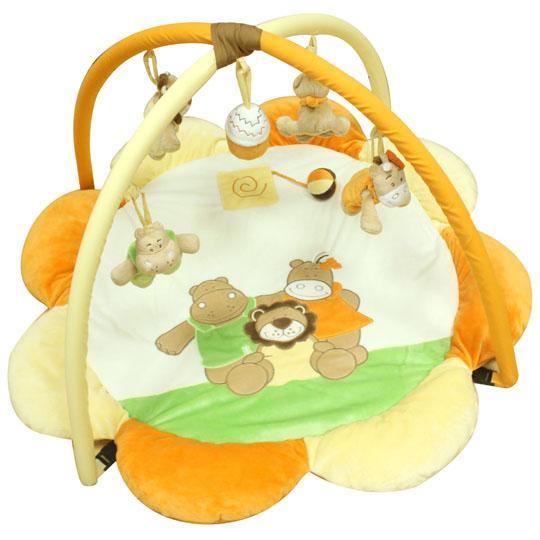 Quatro Hrací deka s hrazdou - Hippo