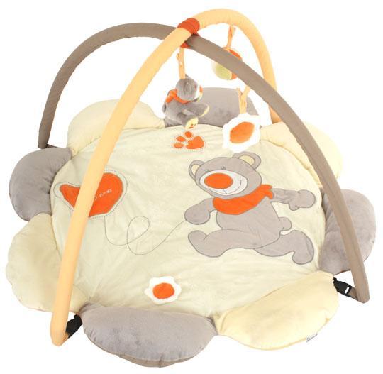 Quatro Hrací deka s hrazdou - Teddy