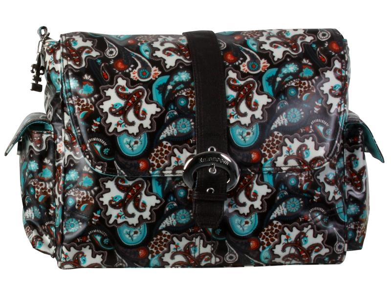 Kalencom Přebalovací taška Buckle Bag - Safari Paisley