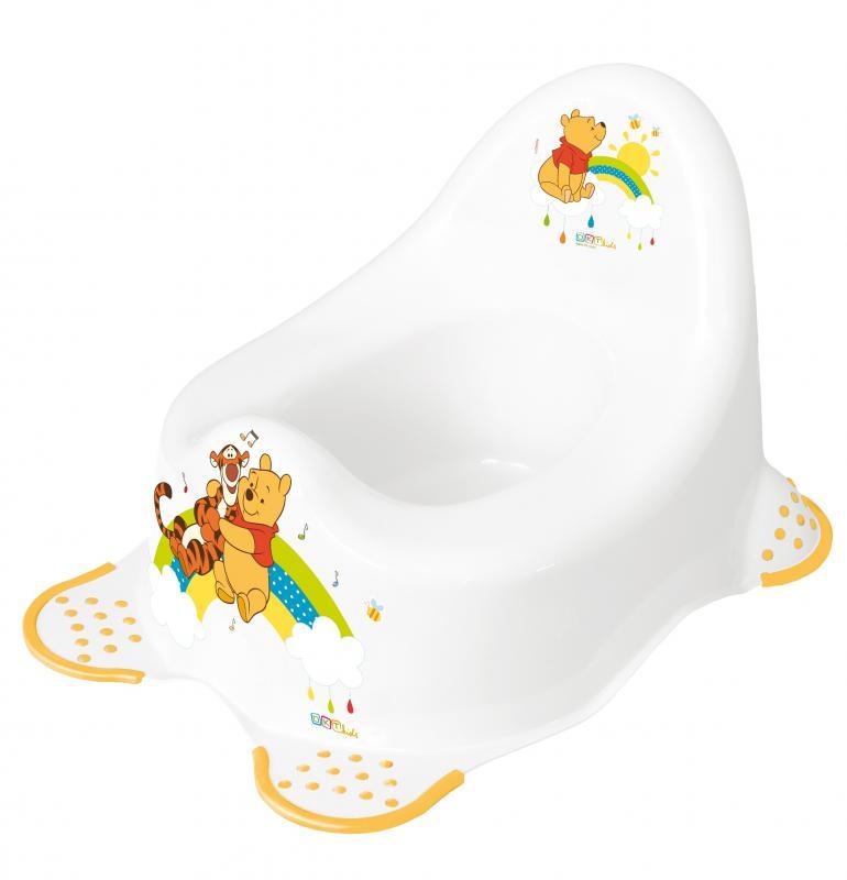 Prima Baby Nočník dětský hrací 2K Winnie Pooh - bílá