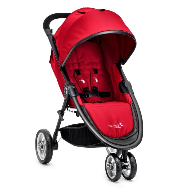 Kočárek Baby Jogger City Lite 2017 - Red