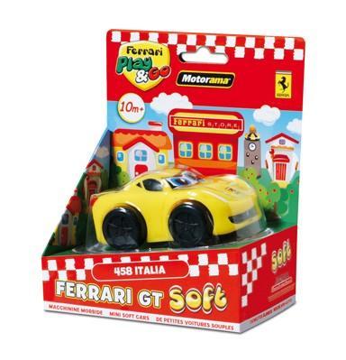 EP Line Ferrari GT soft 4 druhy - žluté Ferrari 458 Italia