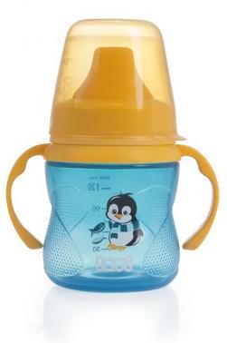 LOVI nevylévací hrníček Hot & Cold 150ml bez BPA - modrý
