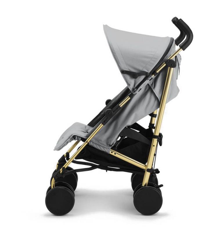 Kočárek Stockholm Stroller 2017 - Golden Grey