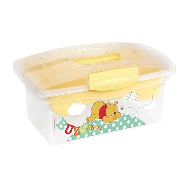 Prima Baby Úložný box Winnie Pooh - žlutá*