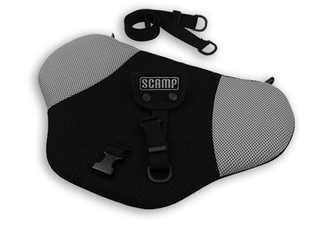 SCAMP bezpečnostní pás pro těhotné - černo-šedý