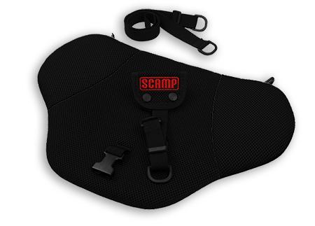 SCAMP bezpečnostní pás pro těhotné - černý