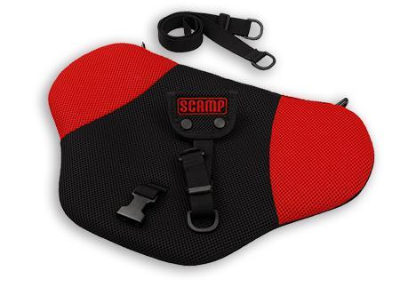 SCAMP bezpečnostní pás pro těhotné - černo-červený