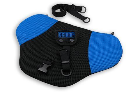 SCAMP bezpečnostní pás pro těhotné - černo-modrý