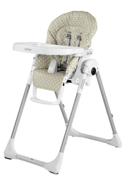 Jídelní židlička Peg Pérego Prima Pappa ZERO3 2018 - Babydot Beige
