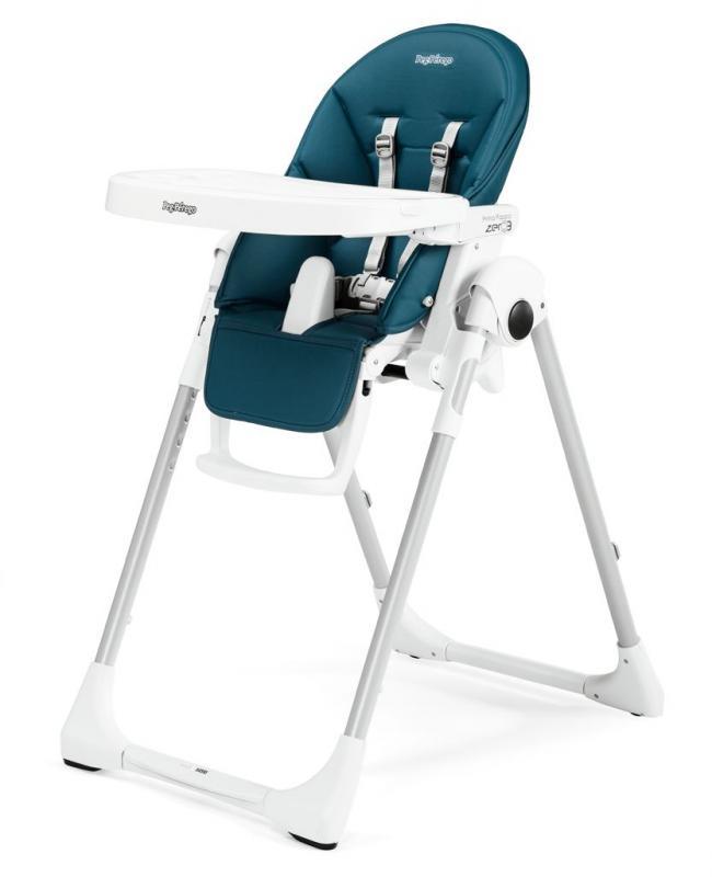 Jídelní židlička Peg Pérego Prima Pappa ZERO3 2018 - Petrolio