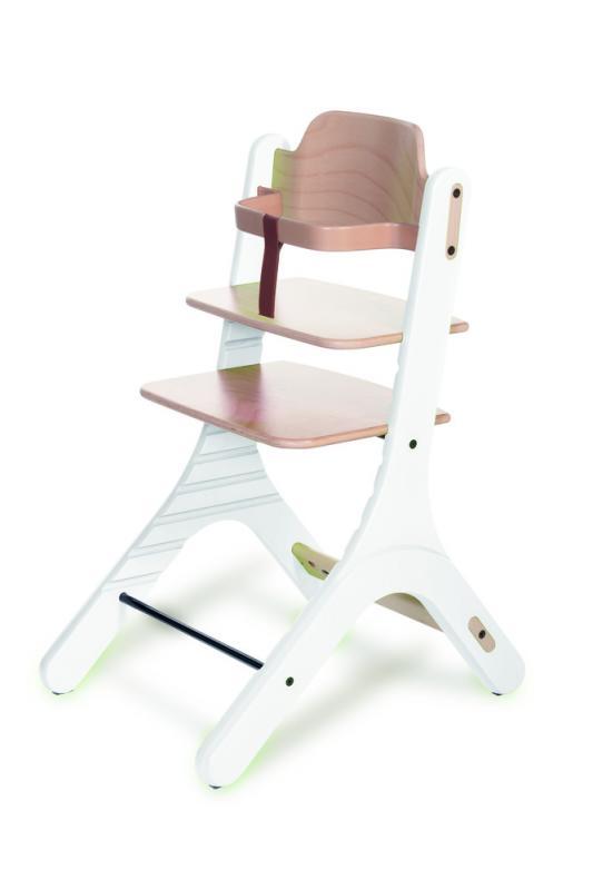 Duux Dapper High Chair - Rostoucí židle 0+ - Natural/White