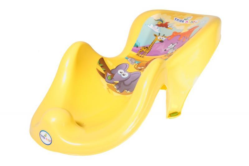 Tega Baby lehátko do vaničky Safari - žlutá
