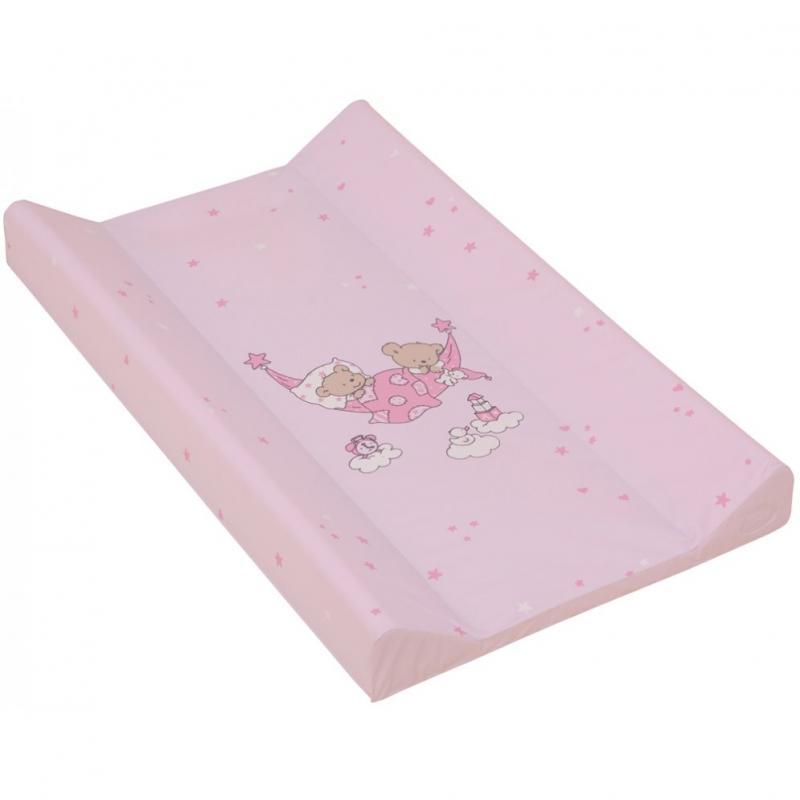 Scarlett přebalovací podložka s pevnou deskou 70x50 cm - růžová