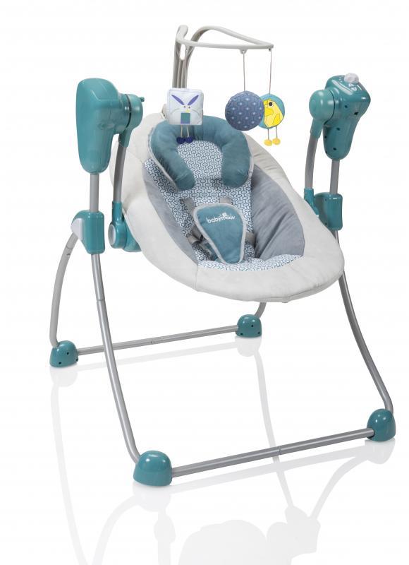 Babymoov houpačka Swoon Bubble - Aluminium