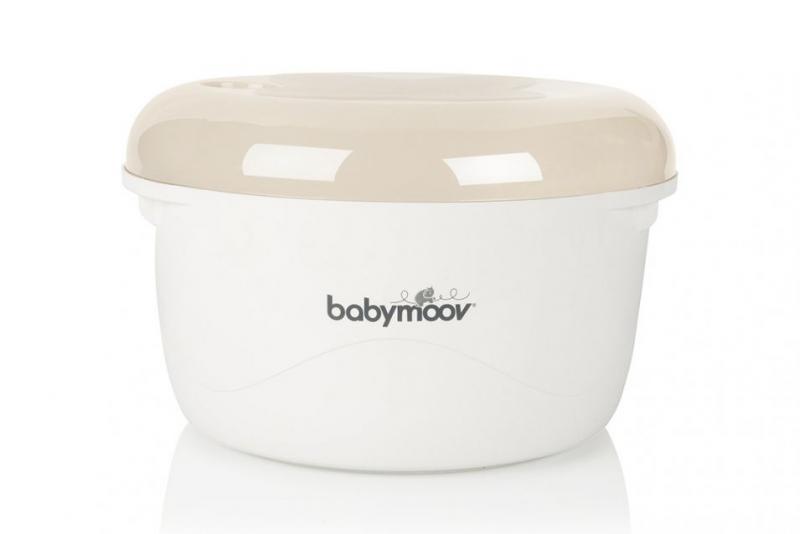Babymoov sterilizátor do mikrovlnné trouby 2v1 - Cream